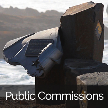 Coastal Safety Marker Project by Ellen Tykeson: Public Commissions