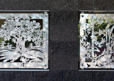 Continuum Entry Panels by Ellen Tykeson